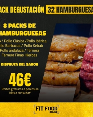 pack de hamburguesas